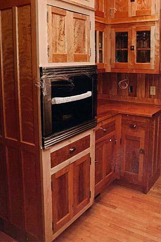 Custom Range Cabinet