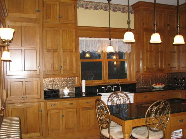 Upper victorian cabinets.