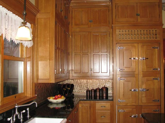Victorian upper cabinets