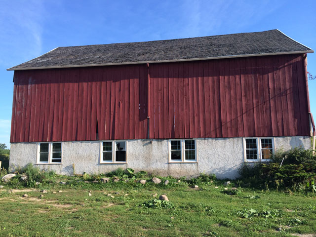Barn Before Dismantling