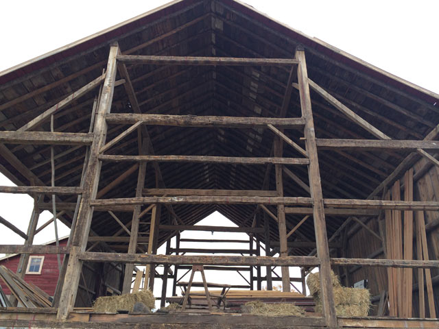 Gable End Barn Dismantle