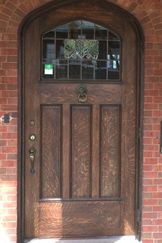 Quarter Sawn White Oak Entrance Door