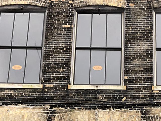 Schuette Building Historic Windows